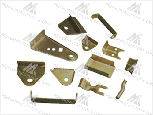 Brass Sheet Cutting Parts Brass Pressed Parts Marvel